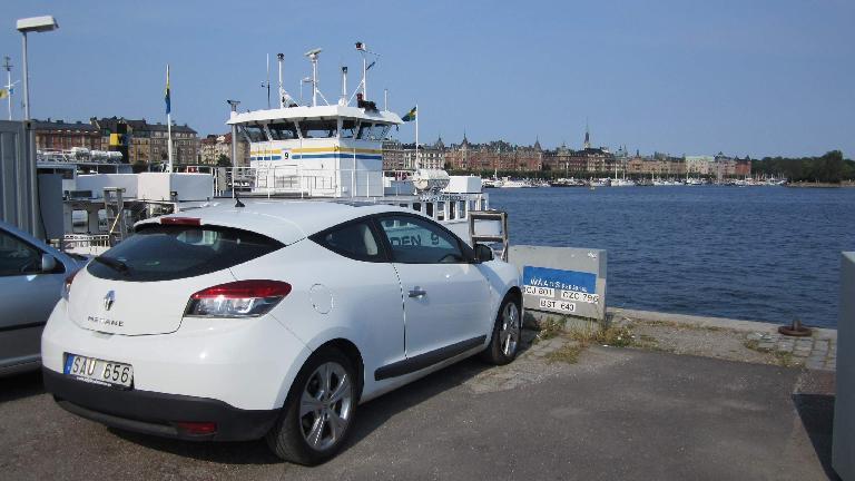 Renault Megane Coup̩ in Stockholm.