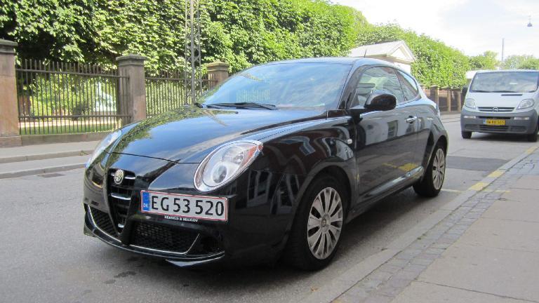 Alfa Romeo MiTo in Copenhagen.