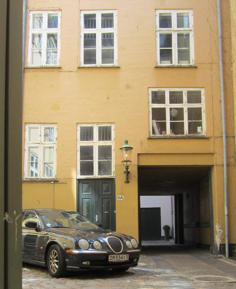 Jaguar S-Type in Copenhagen.