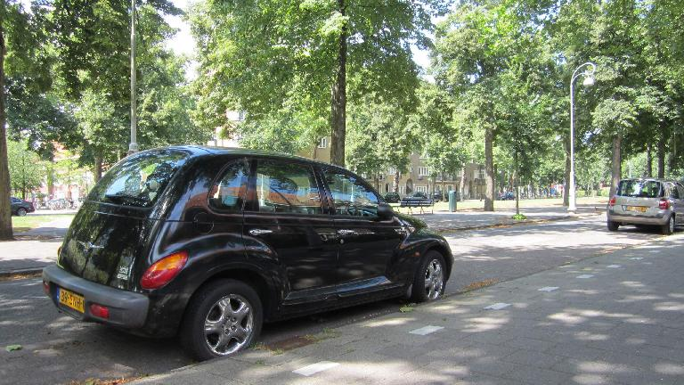 A Chrysler PT Cruiser in Amsterdam.
