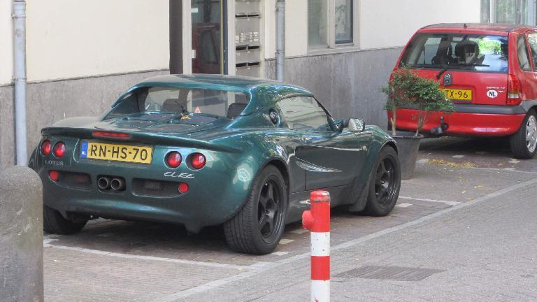 Lotus Elise in Amsterdam.