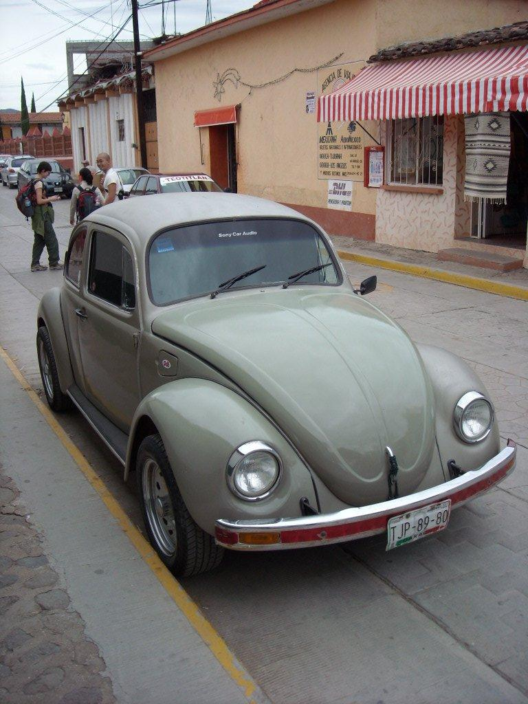 A pimped-out Beetle in Teotitlan del Valle. (December 19, 2009)