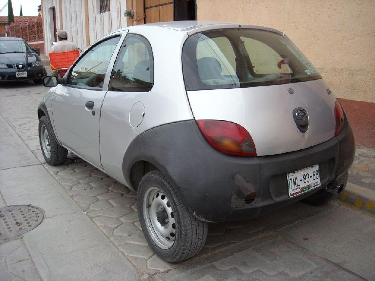 Mexico also gets the Ford Ka -- a car ubiquitous in Europe. (December 19, 2009)