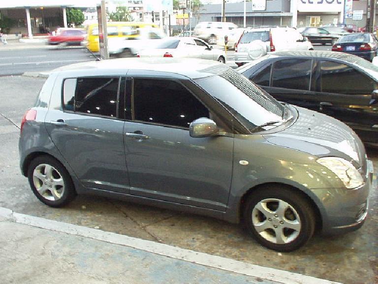 New Suzuki Swift. (February 27, 2007)