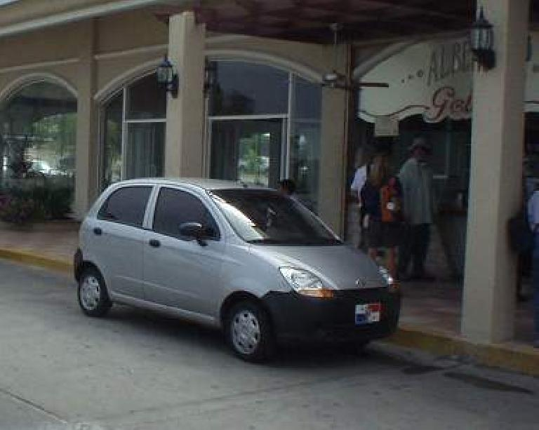 Chevy Spark.  I believe it is based off of the Daewoo Matiz. (March 10, 2007)