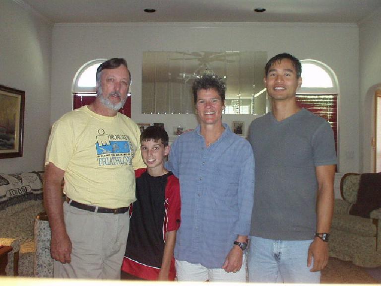 Bob, Taylor, Deborah, and Felix.