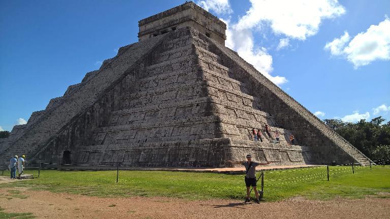 Felix Wong, El Castillo, Chichén Itzá