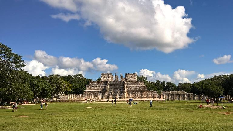 Temple of the Warriors, Chichén Itzá