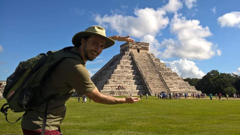 Alberto François, Chichén Itzá