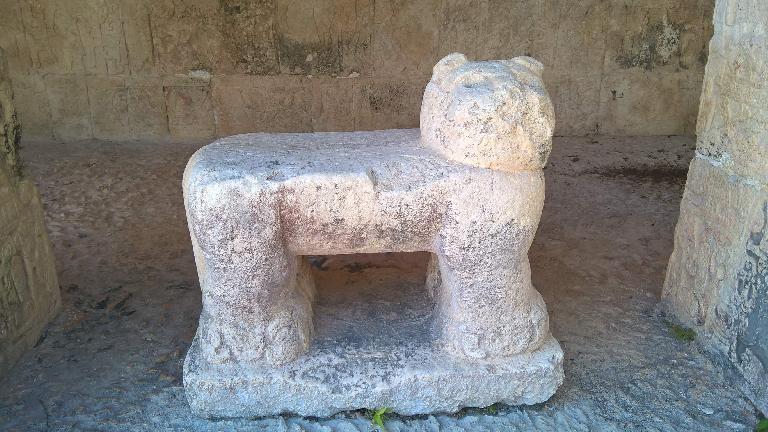 jaguar throne, Chichén Itzá