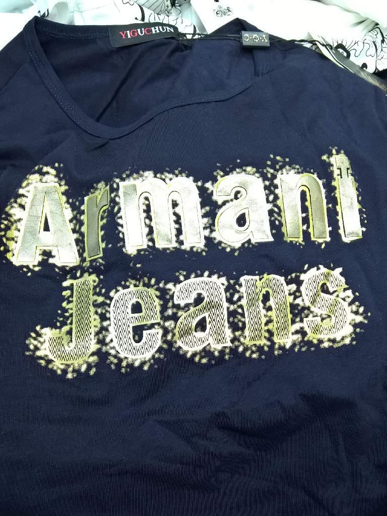 Armani Jeans counterfeit shirt