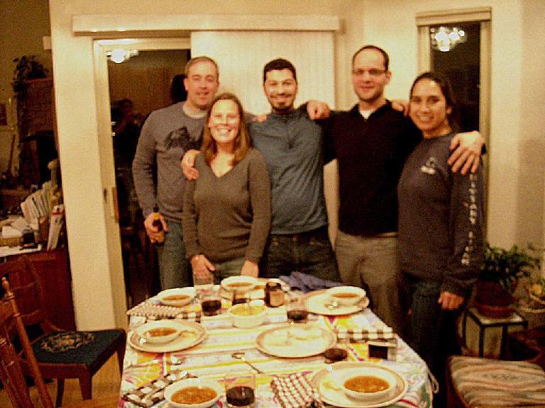 Chad, Shantel, Dave, Chris and Carolyn.