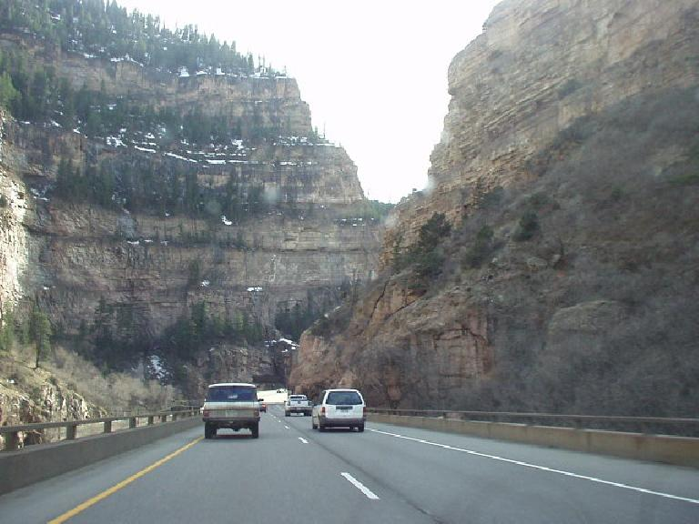 Western Colorado was a wonderful surprise.  This is Glenwood Canyon, just east of Glenwood Springs.