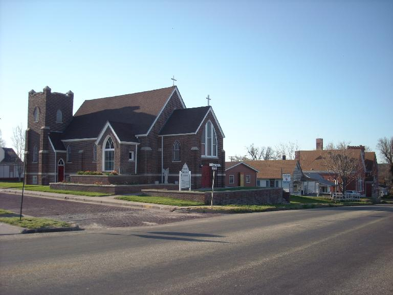 Lots of churches and Jesus references in Kansas, particularly in areas where I only saw old folks. (April 24, 2009)