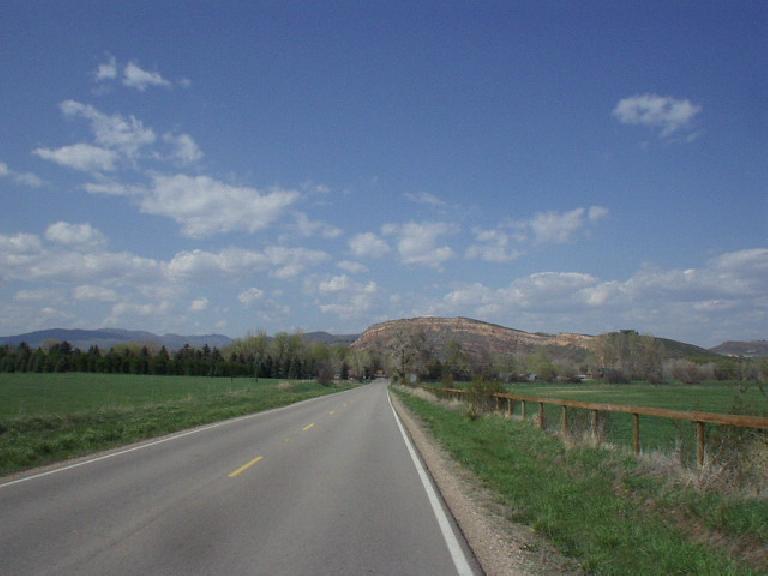 Red Rock just beyond Bingham.