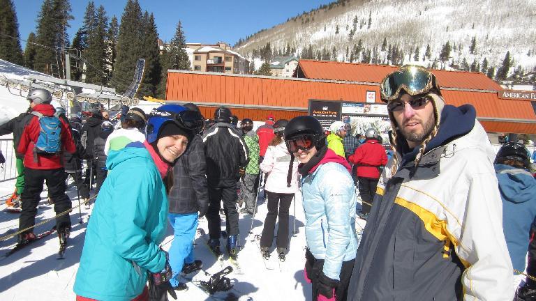 Karen, Jennie, and Dave.