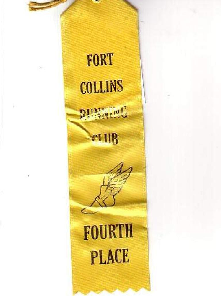 I got a ribbon!