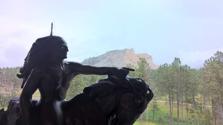 Crazy Horse statue, Crazy Horse Memorial Monument