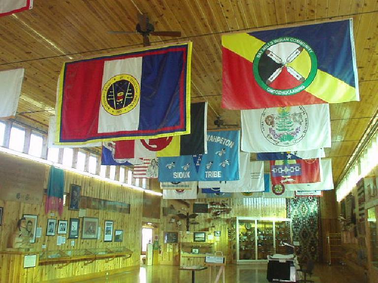 Flag room.