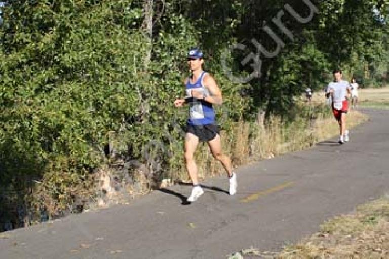Mile 4: feeling great. Photo: RunningGuru.com.