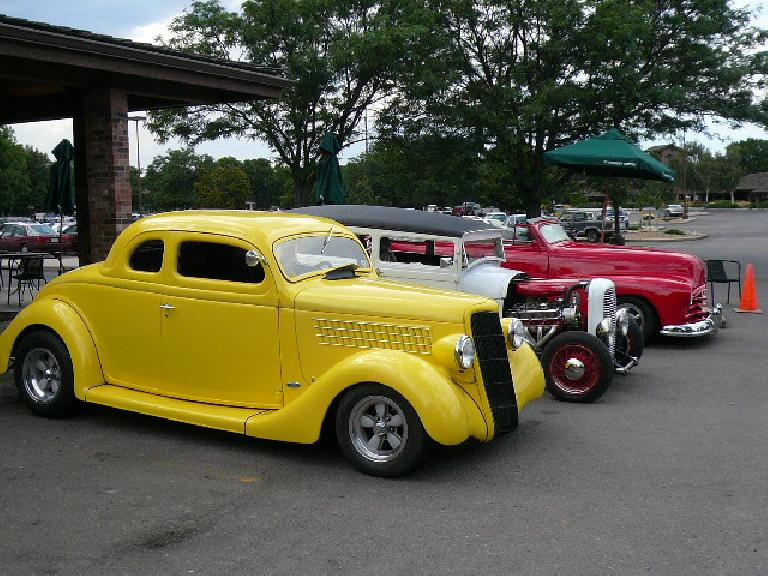 More hot rods.
