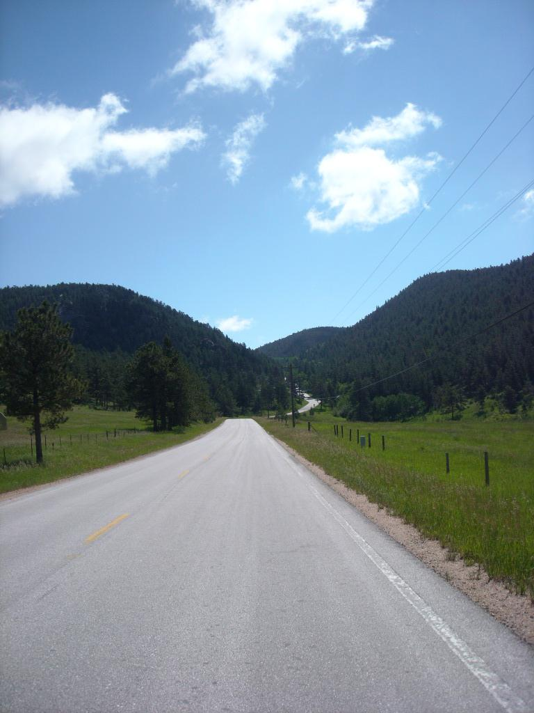 The final two-mile stretch up Rist Canyon.