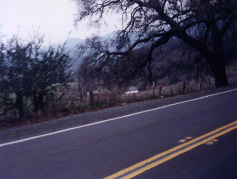 side of road, 1999 Davis 200k Brevet