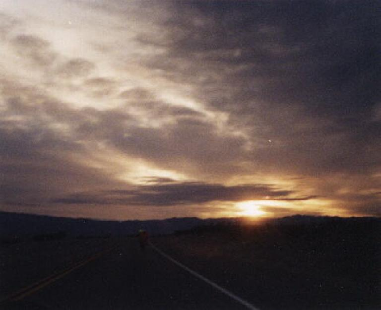 dawn, 2000 Death Valley Double Century