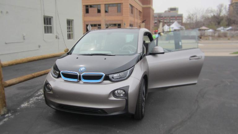 The BMW i3 has arrived!