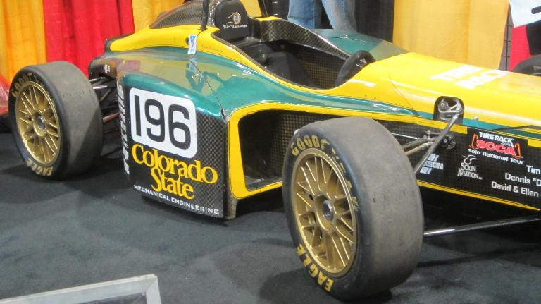 Colorado State University race car