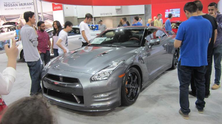 grey 2015 Nissan GT-R