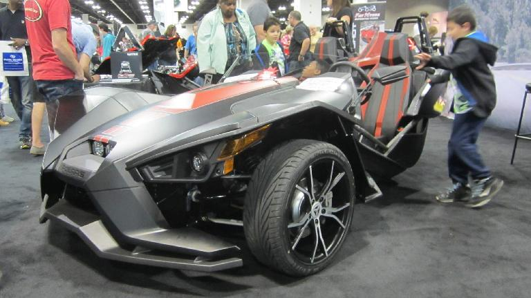 grey 2016 Polaris Slingshot