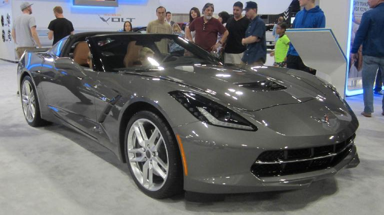 grey 2015 Chevrolet Corvette