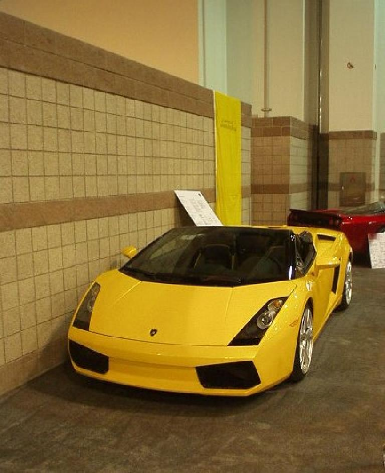 ... or for a Lamborghini, either.  This is the new Gallardo roadster.