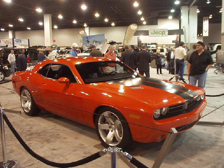 Dodge decided it needed to follow Ford's muscle car lead (again) with a car that looked just like the '70 Challenger.  Problem is, I don't think the original looked that great.