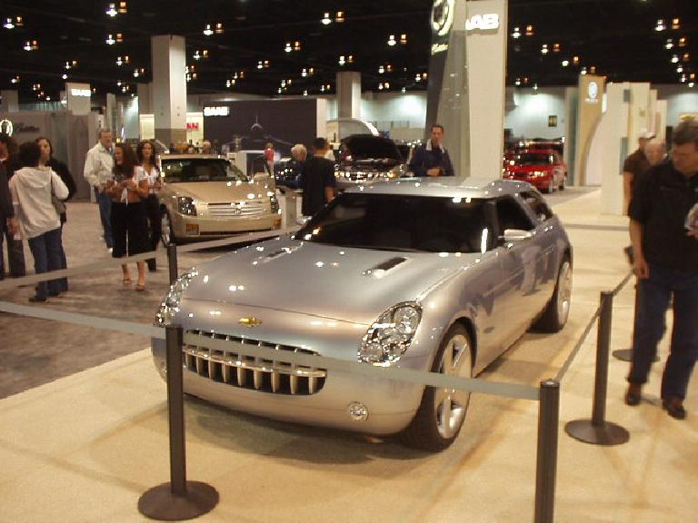 Now for some concept cars.  This is the Chevy Nomad.