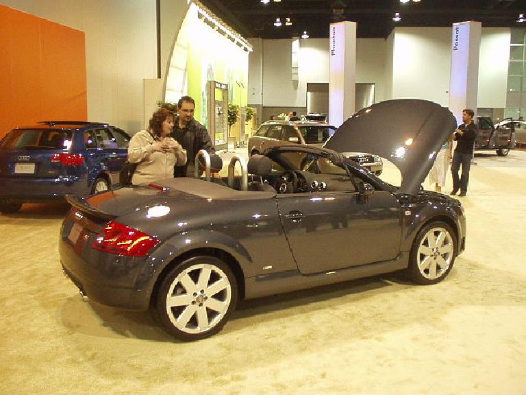 The Audi TT, which debuted as a concept over 8 years ago, has aged well.