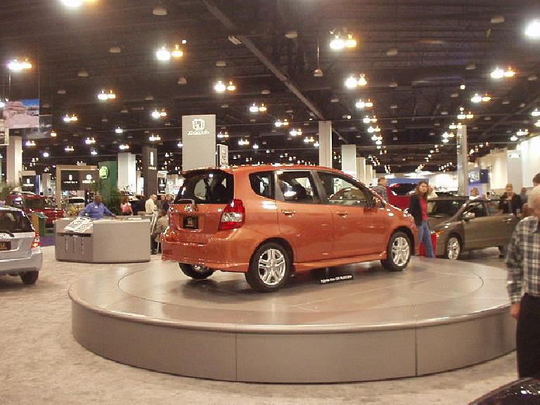 The Honda Fit -- to be in dealerships shortly -- is very cute, sporty, and frugal too.