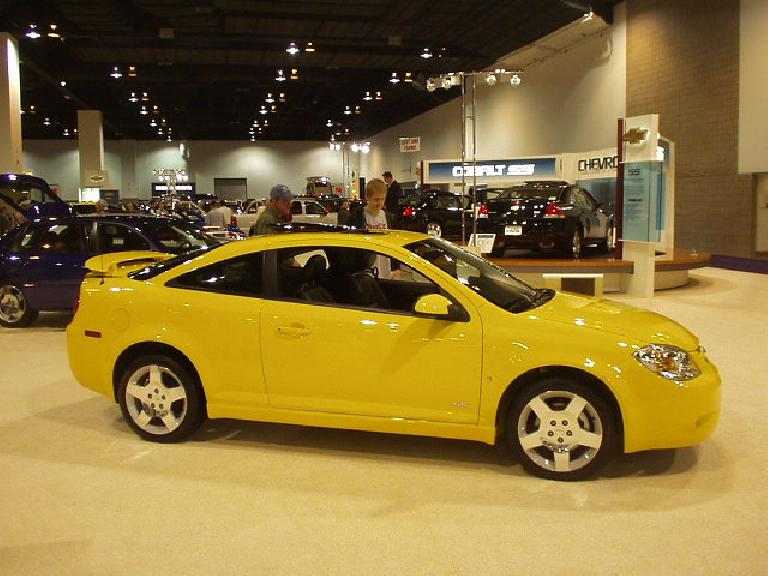 I actually think the Chevy Cobalt looks really nice, like the 90s Opel Calibra.