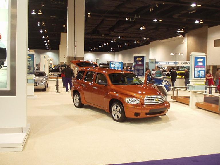 I also like the PT Cruiser-inspired Chevy HHR.