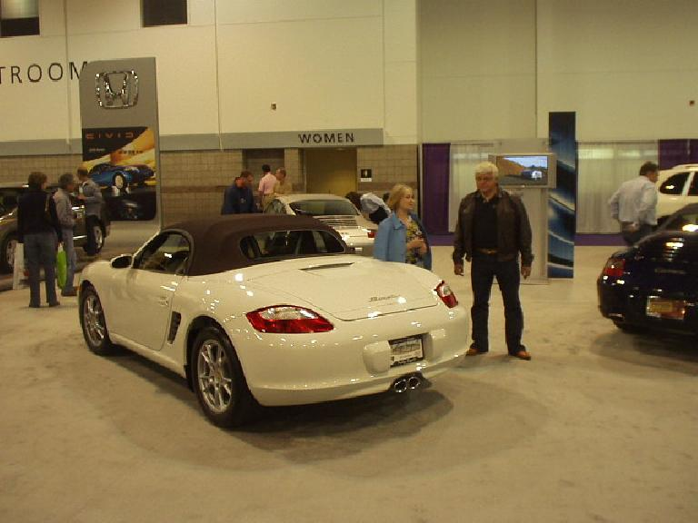 The Boxster has really grown on me over the years.  This was probably my favorite car of the show...