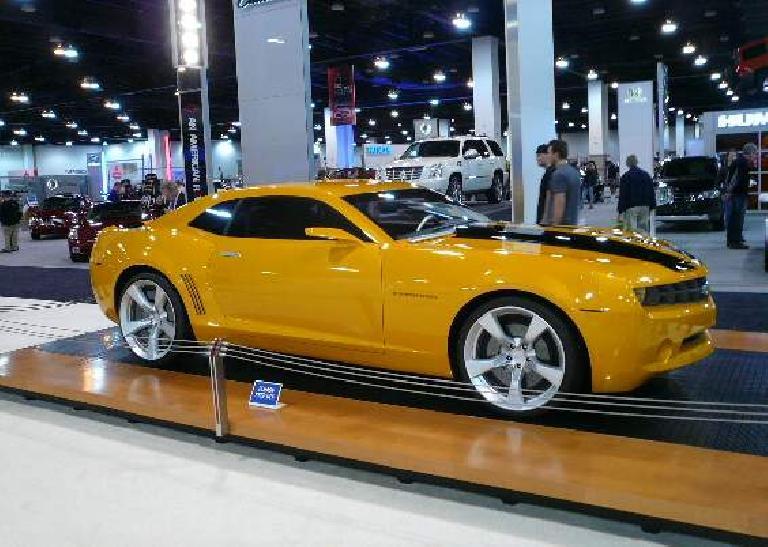 The pre-production Chevrolet Camaro.