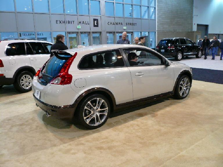 The Volvo C30 is very cute... a natural MINI competitor.