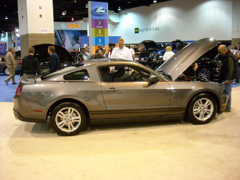 The 2011 Mustang, with base V6, will get 31 mpg highway (automatic) despite having 305 horsepower!