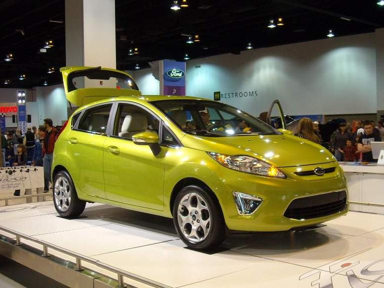 "The 2010 Ford Fiesta.  I like the ""kinetic design"" styling and its anticipated 40mpg highway."
