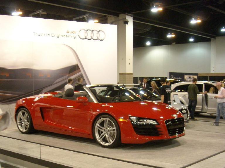 Audi A8 Cabriolet.