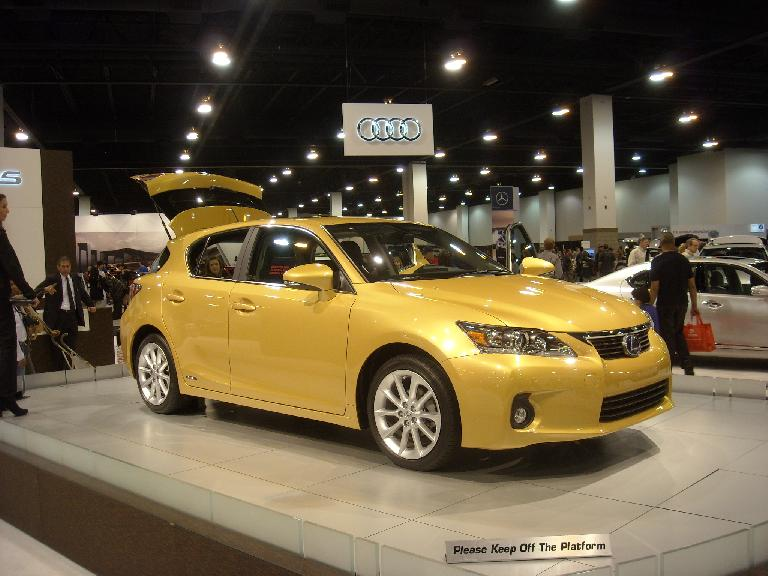 The Lexus CT 200h hybrid, based off a Toyota Prius, starts at under $30k.