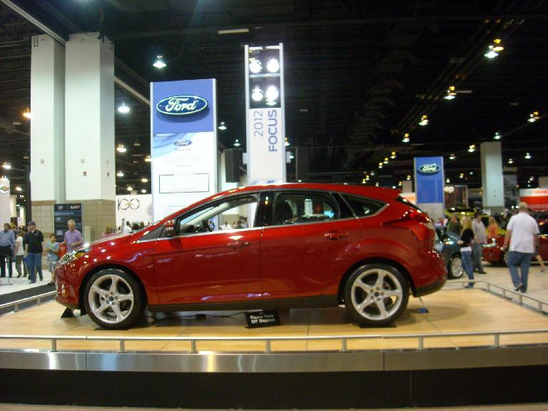 The new Ford Focus looked great.