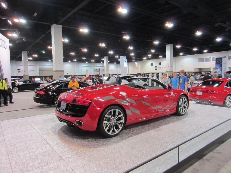 The TT Roadster's big sister, the Audi R8.