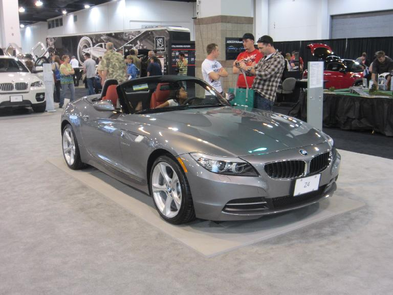 The BMW Z4 was my favorite car in the whole show.  It'll be on my short list for future vehicles.